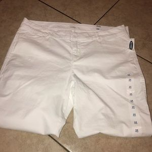 White Pixie old navy pants size 14